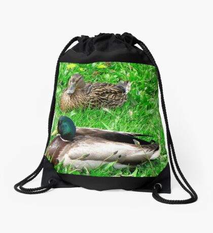 Things are just Ducky here ! Drawstring Bag