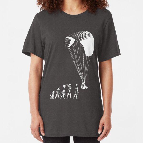 Paragliding evolution Slim Fit T-Shirt