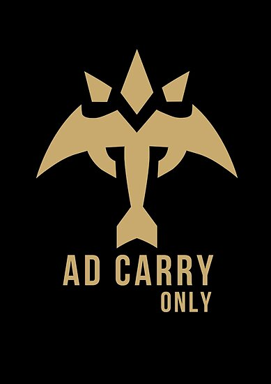 AD Carry ONLY! - League of Legends by fantasylife