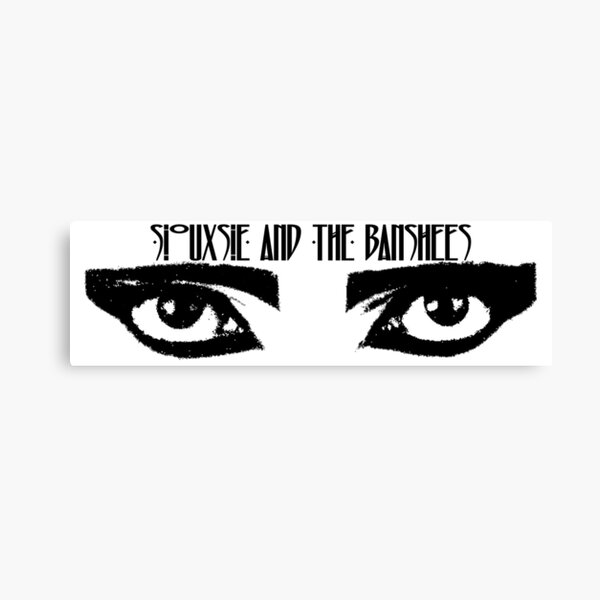 Siouxsie and the Banshees - Eyes of Siouxsie Sioux 3 Canvas Print