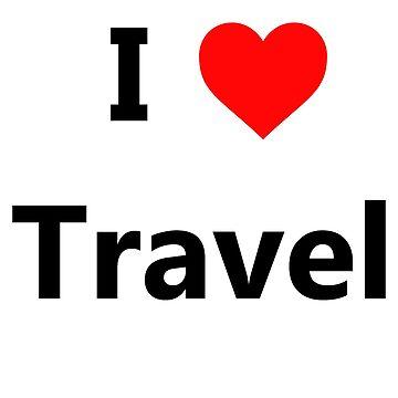 I love travel by hamzabarcelonaa
