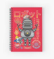 Robot 3.0 Spiral Notebook