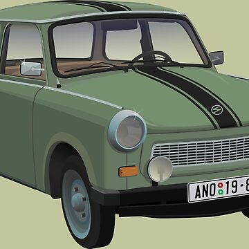 Trabant 601 by BurrowsImages