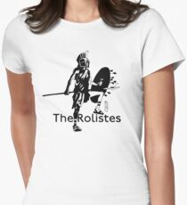The Rolistes Podcast - Trojan (Mono) Fitted T-Shirt