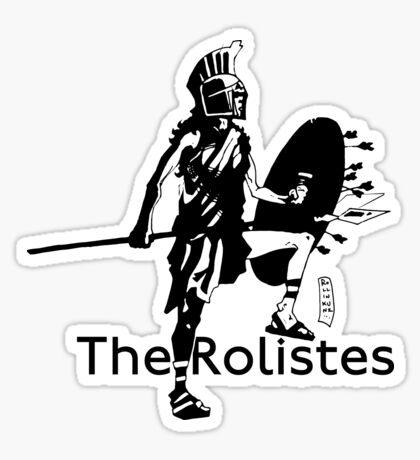 The Rolistes Podcast - Trojan (Mono) Sticker