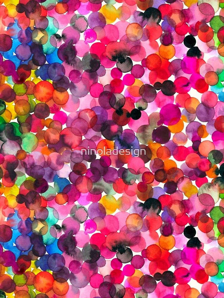 Watercolor dots by ninoladesign