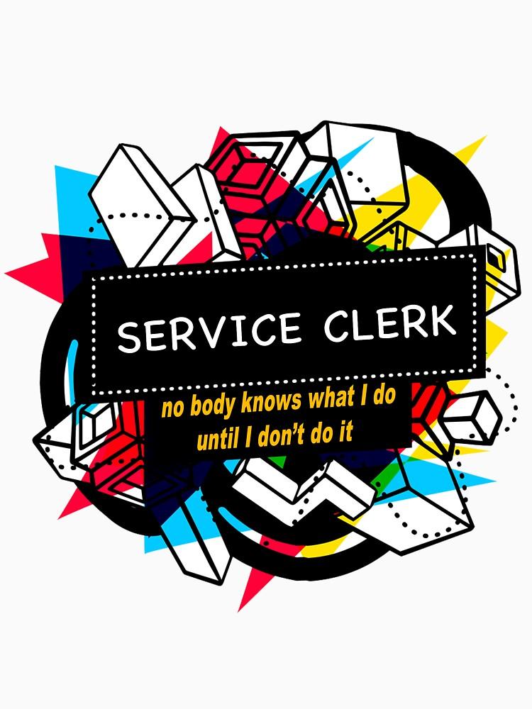 SERVICE CLERK by emmatnoah