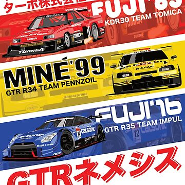 Nissan GTR History by 8800ag