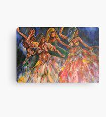 Baile Gitana Baile  Canvas Print