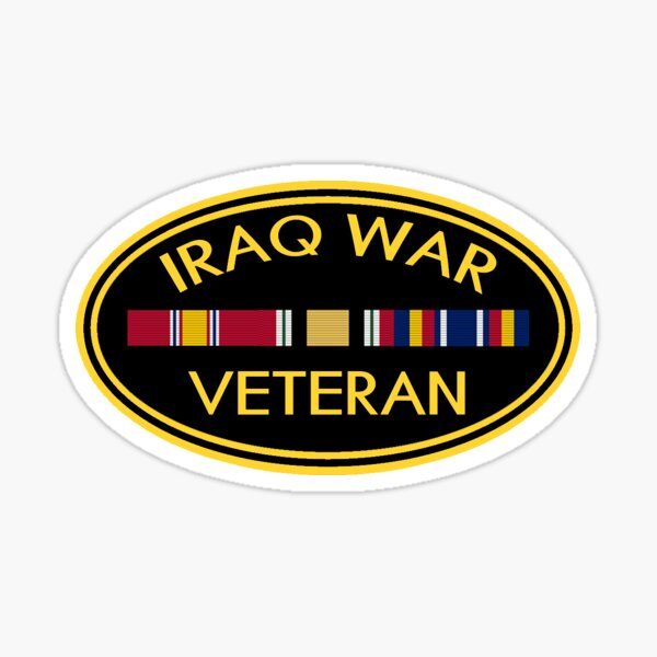Iraq Veteran Sticker