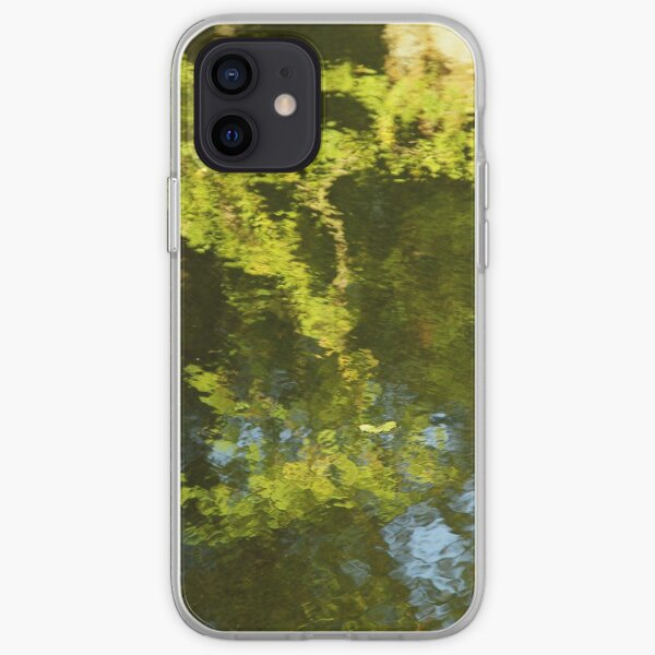 Green reflection iPhone Soft Case