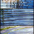 3 Minutes in The Ripple of Time - Triptych by Kitsmumma