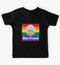 Bea Arthur Golden Girls Pride Proud Kids Tee