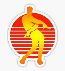 Orange justice Dance Sticker