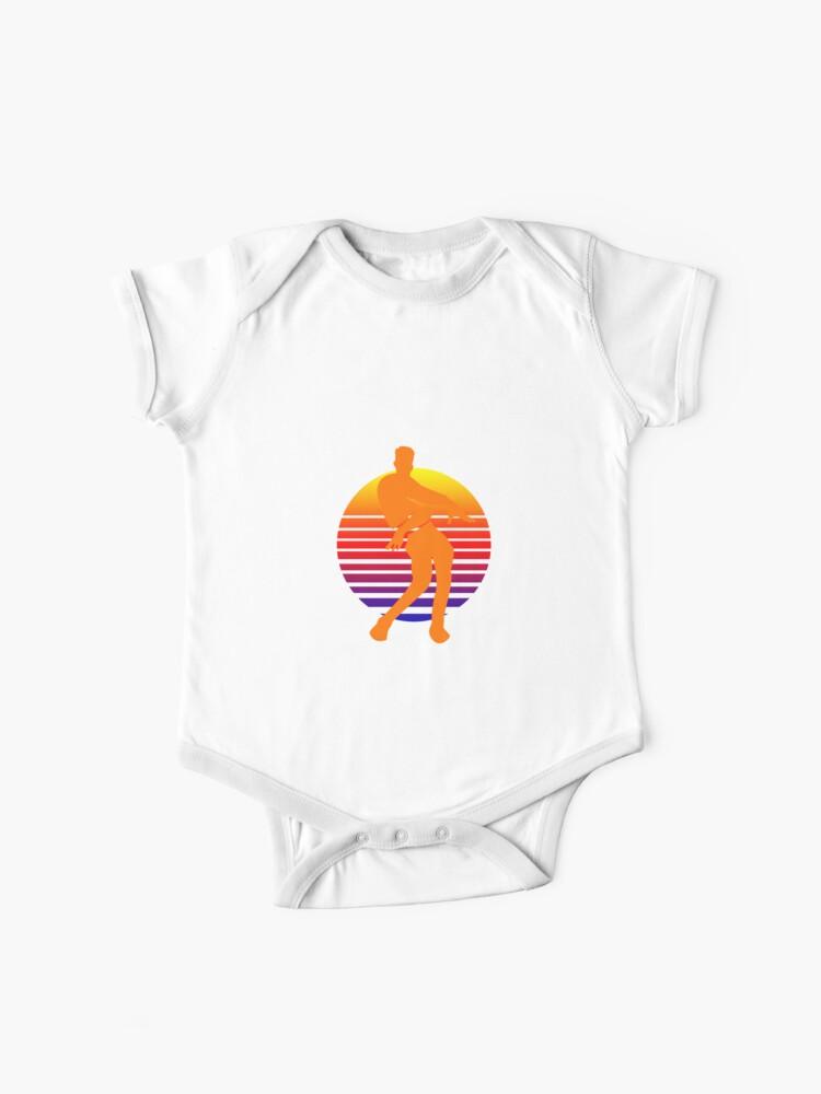 Orange Justice Dance Retro Baby One Piece By Newmerchandise