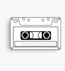Cassette Tape Canvas Print