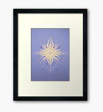 Boho sun Framed Print