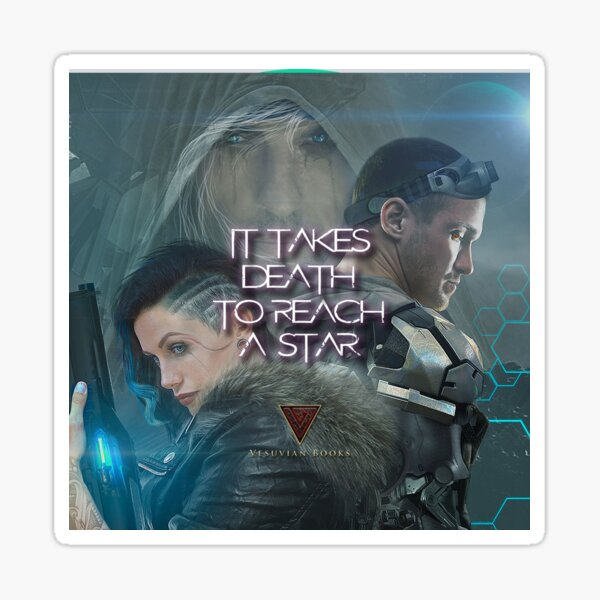 IT TAKES DEATH TO REACH A STAR ALL CHARACTERS 2 Sticker