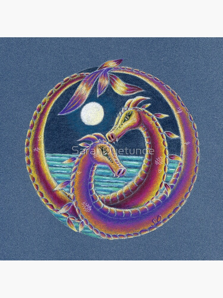 Dragon Lovers (Together at Spring Tide) by SarahOyetunde