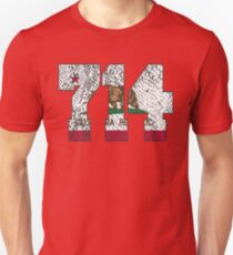 ALWAYS REPPIN' THE 714 Unisex T-Shirt