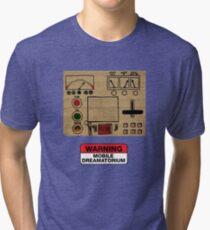 Mobile Dreamatorium Control Board (Community) Tri-blend T-Shirt