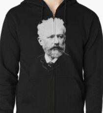 Pyotr Ilyich Tchaikovsky - Great Russian Composer Zipped Hoodie