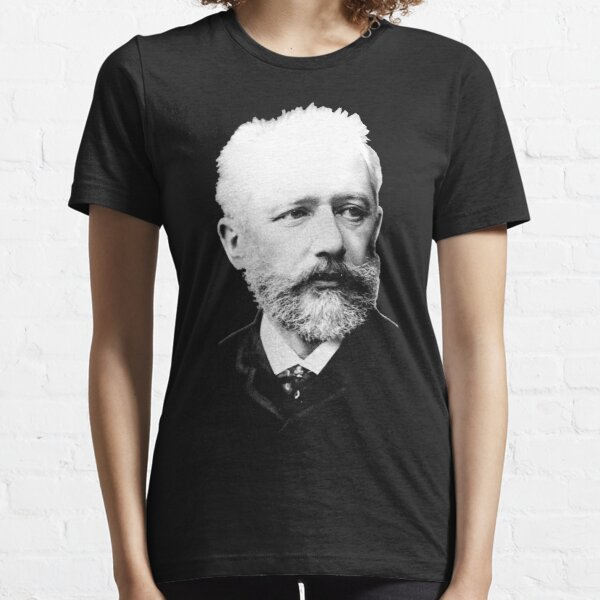 Pyotr Ilyich Tchaikovsky - Great Russian Composer Essential T-Shirt