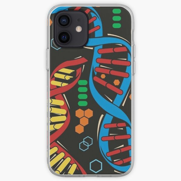 Cosima's DNA Laptop Cover iPhone Soft Case