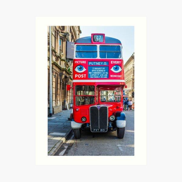 The Bus To Putney Art Print