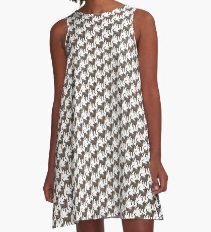 Xoloitzcouintli A-Line Dress