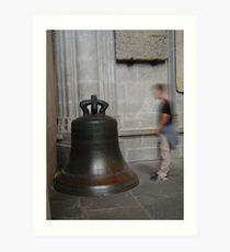 Carcassonne bell Art Print