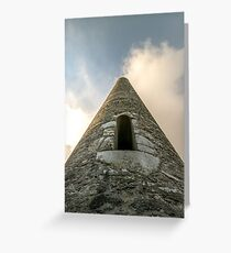 Glendalough Monastic Site Wicklow Mountains Ireland  Greeting Card