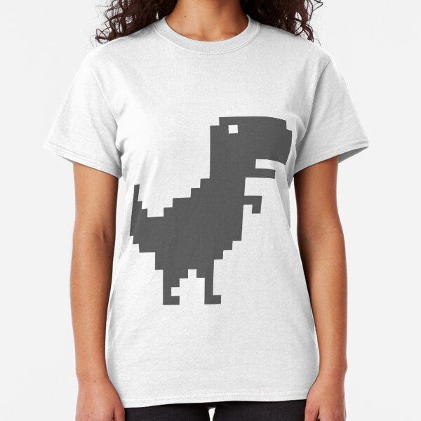 Dino Runner - Google Chrome Browser Game Classic T-Shirt
