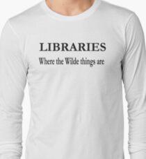 Libraries  Long Sleeve T-Shirt