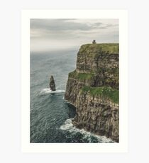 The Cliffs of Moher - County Clare Ireland Travel Art Print