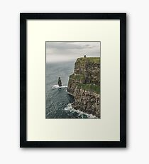The Cliffs of Moher - County Clare Ireland Travel Framed Print