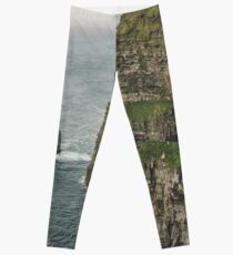 The Cliffs of Moher - County Clare Ireland Travel Leggings