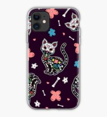 Dia de los Gatos iPhone Case