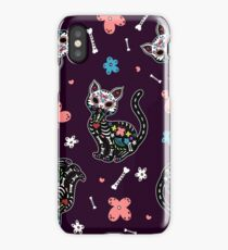 Dia de los Gatos iPhone Case/Skin
