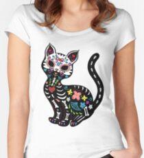 Dia de los Gatos Women's Fitted Scoop T-Shirt