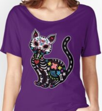 Dia de los Gatos Women's Relaxed Fit T-Shirt