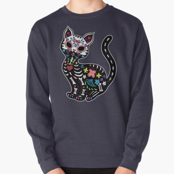 Dia de los Gatos Pullover Sweatshirt