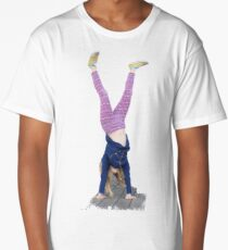 An Upside-down Life Long T-Shirt
