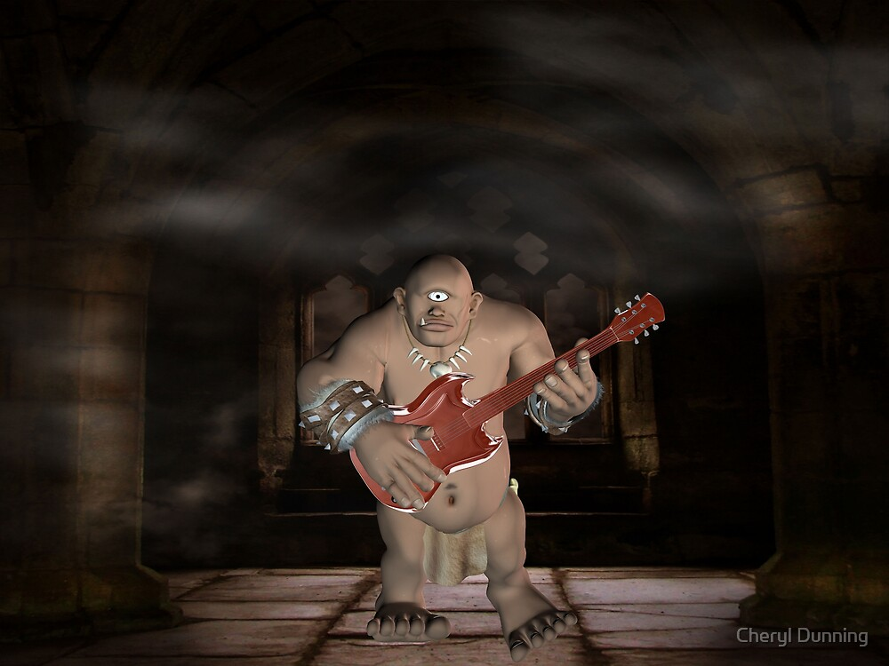 worlds first guitarist? by Cheryl Dunning