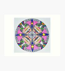 Lámina artística Mandala