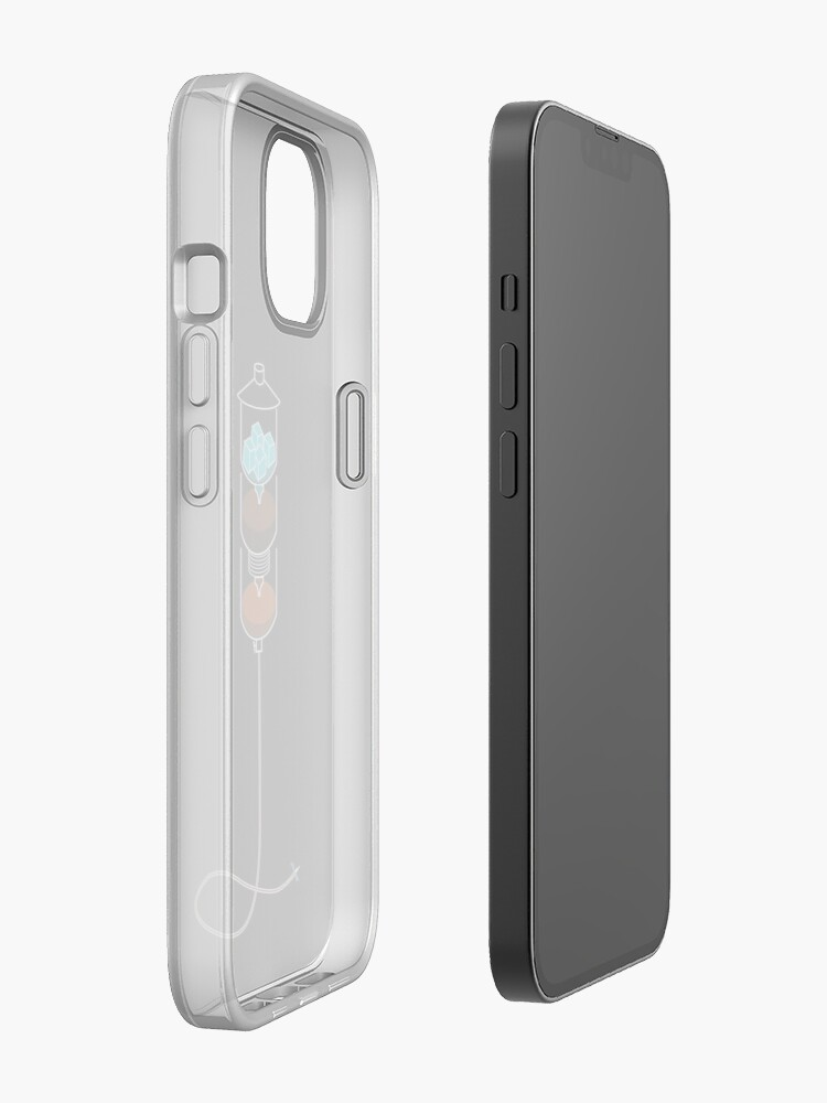 Alternate view of Cold Drip IV iPhone Case
