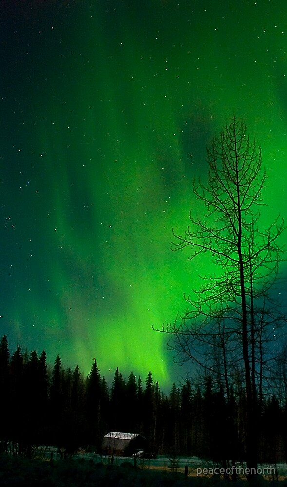 Aurora Country by peaceofthenorth