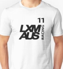 LXM Australia Racing #11 - Black T-Shirt