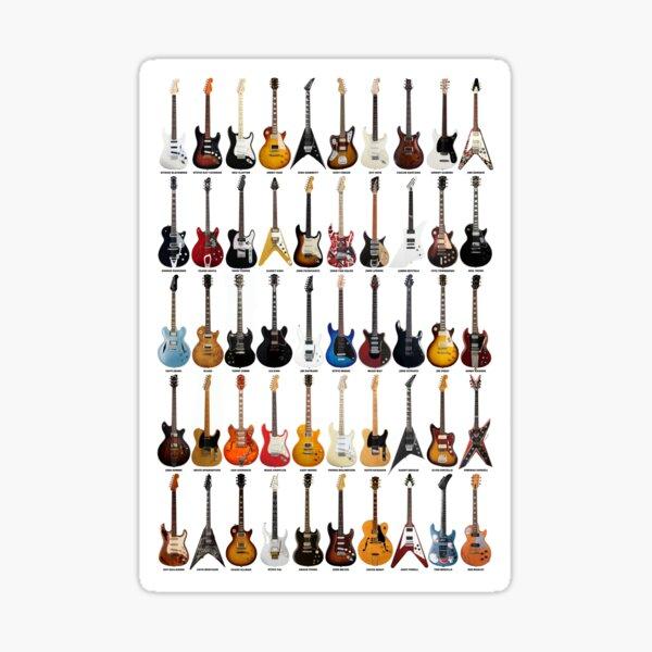 Guitar Legends Sticker