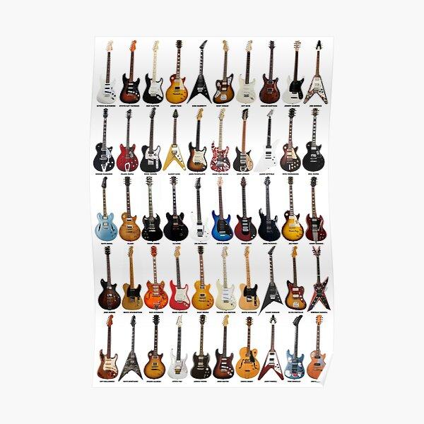 Gitarrenlegenden Poster